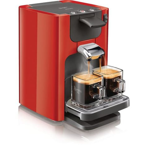 cafetiere senseo orange auchan