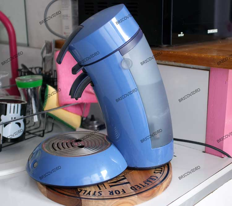 cafetiere senseo ouverture bloquee