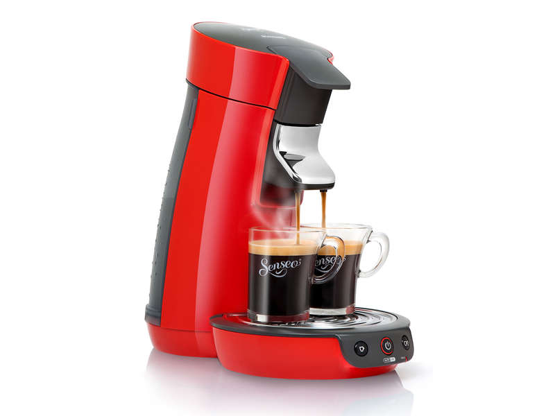 cafetiere senseo rouge conforama
