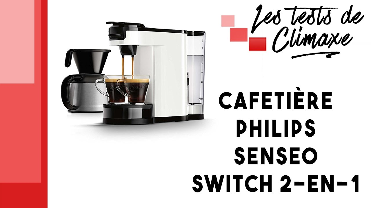 cafetiere senseo switch 2 en 1