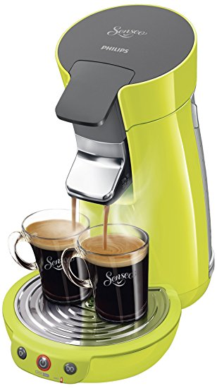 cafetiere senseo vert acidule