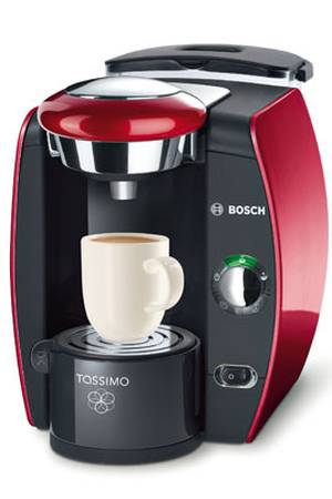 cafetiere tassimo bosch tas4213 – rouge