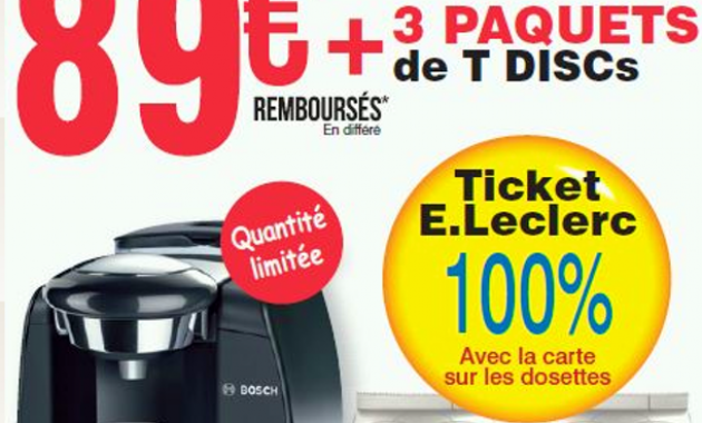 cafetiere tassimo promo carrefour