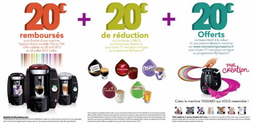 cafetiere tassimo reduction