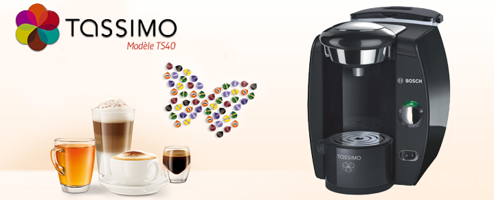 cafetiere tassimo tas 40xx. Black Bedroom Furniture Sets. Home Design Ideas