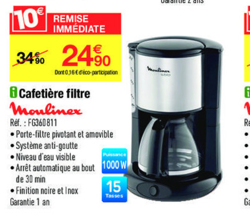 Cafetiere Tassimo Carrefour
