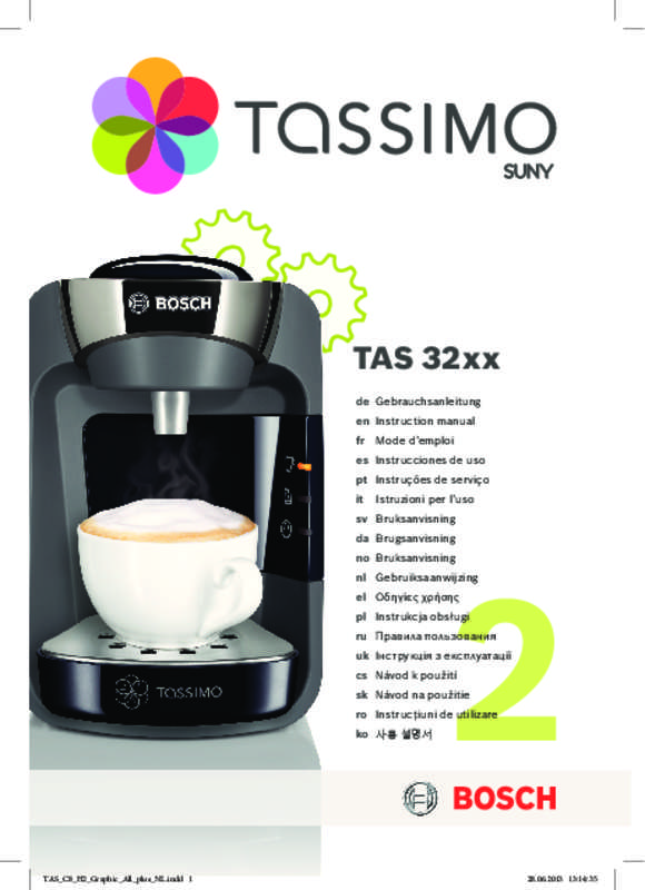 cafetiere tassimo voyant rouge allume