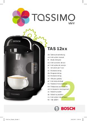 cafetiere tassimo voyant tasse rouge
