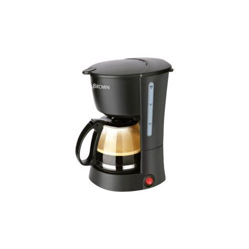 cafetiere white and brown