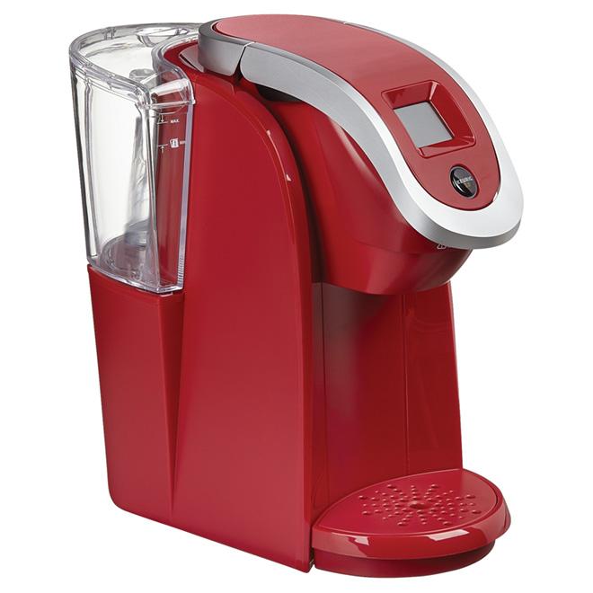 cafetiere 1 tasse rouge