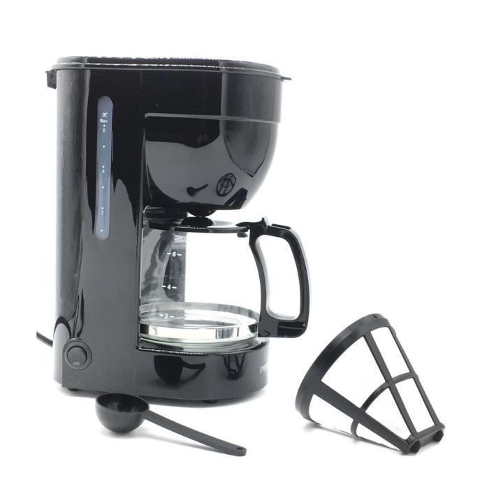cafetiere 6 tasses filtre permanent