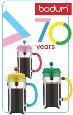 cafetiere bodum 70 ans