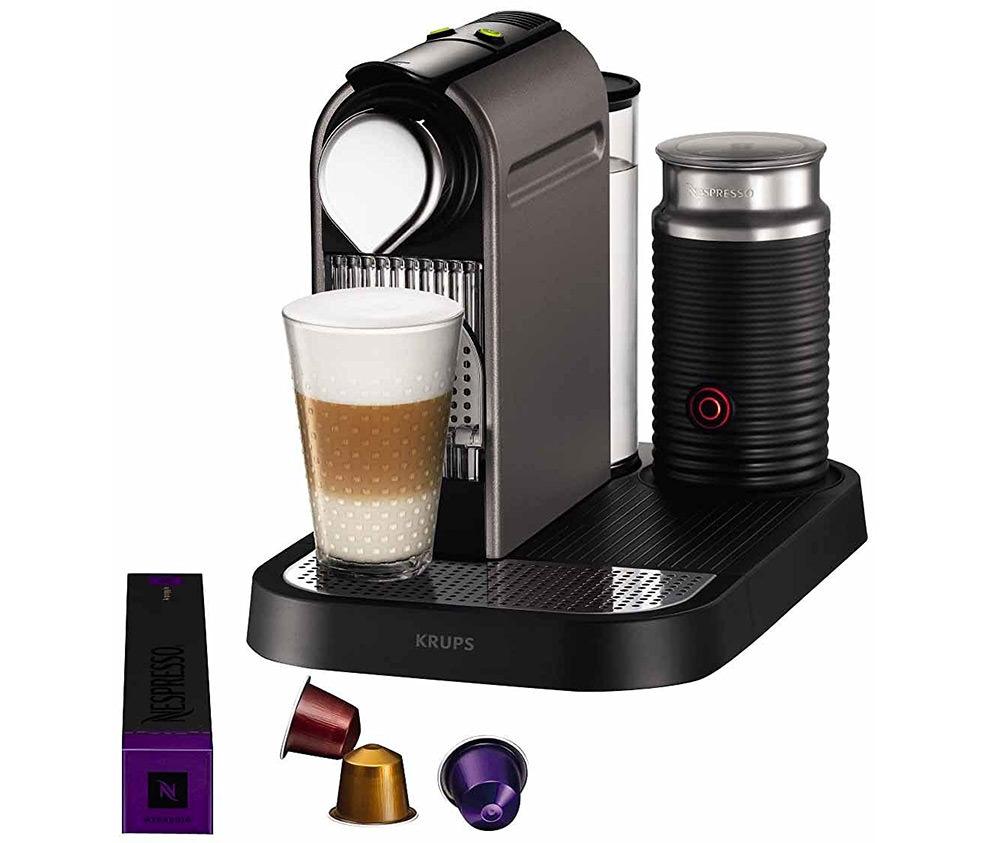 cafetiere nespresso lait