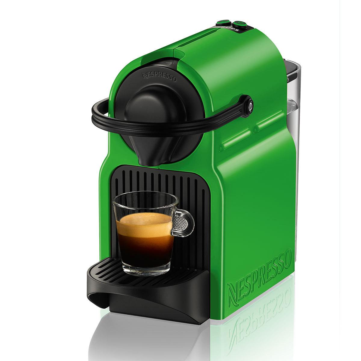 cafetiere nespresso verte