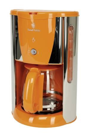 cafetiere orange filtre
