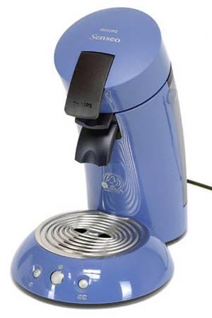 cafetiere senseo bleu