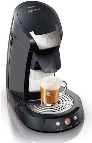 cafetiere senseo latte