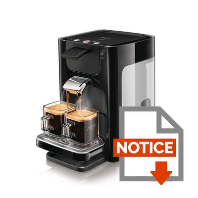 cafetiere senseo notice