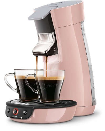 cafetiere senseo rose