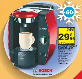 cafetiere tassimo a auchan