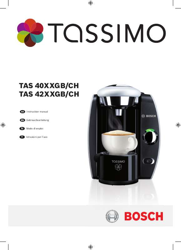 cafetiere tassimo clignote