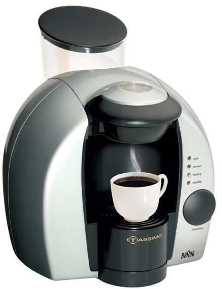 cafetiere tassimo probleme