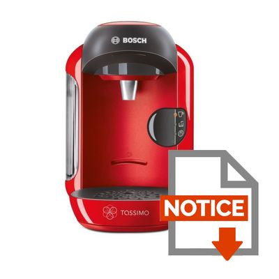 cafetiere tassimo voyant rouge